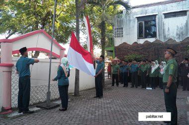 Upacara memperingati Hari Kemerdekaan Republik Indonesia ke-72