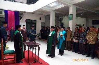 Pengambilan sumpah jabatan dan pelantikan Wakil Ketua PA Blitar